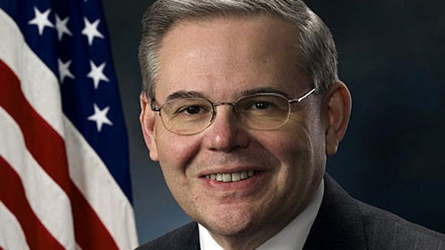 PHOTO: Sen. Bob Menendez (D-New Jersey) called on Republicans and Democrats to work toward immigration reform during a talk at the Center for American Progress on Wednesday, Nov. 14, 2012.