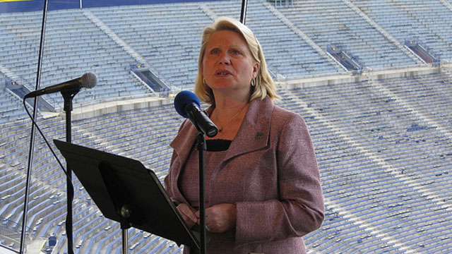 PHOTO:Michigan Secretary of State Ruth Johnson announced Friday, Feb. 1, 2013, that the state will issue driver?s licenses to deferred action recipients.