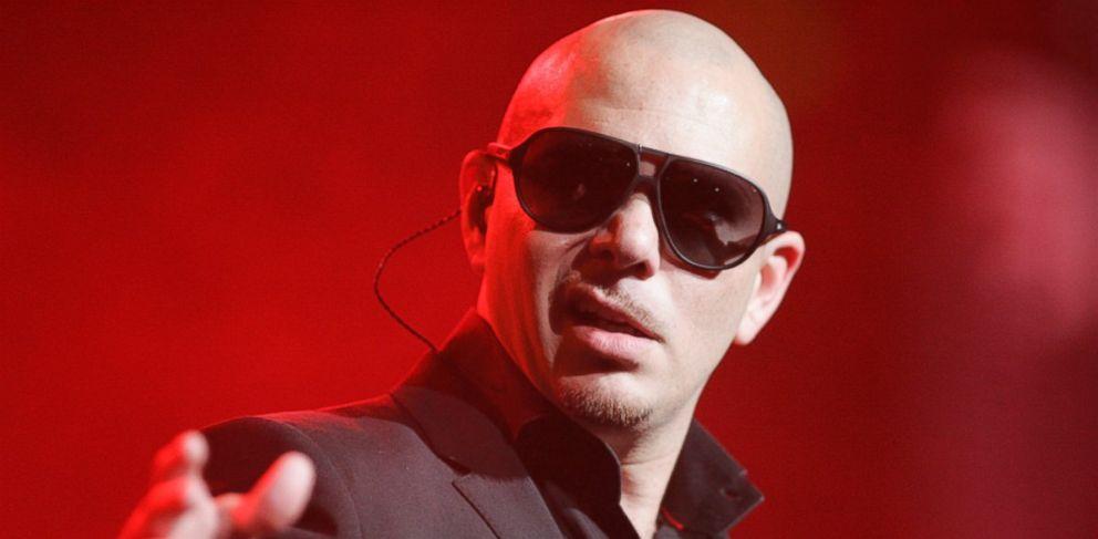 PHOTO: Rapper Pitbull opened a charter school in Miami, Florida, centered around sports.