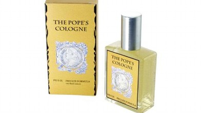 PHOTO: The Pope's Cologne. Allegedly, anyway.