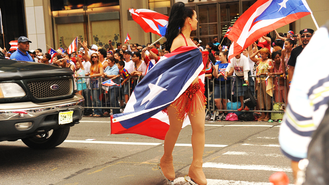 PHOTO: The 54th Annual Puerto Rican Day Parade in 2011 down New York Citys Fifth Ave.
