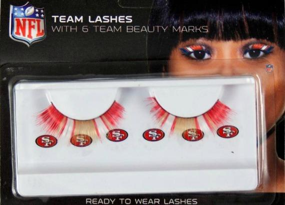Fake Lashes, Mr. Potato Head, and Other Crazy Super Bowl Items