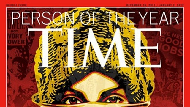 "PHOTO: In 2011, the TIME Person of the Year was ""The Protester."" If internet pranksters had their way, this year, it would be Kim Jong-Un."