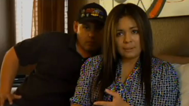 PHOTO:Disabled war veteran James Courtneys wife, Sharon, is facing possible deportation to Mexico.