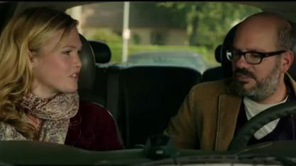 PHOTO: David Cross and Julia Stiles in the trailer for 'It's a Disaster'