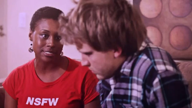 "PHOTO: Issa Rae stars as ""J"" in ""The Misadventures of Awkward Black Girl"""