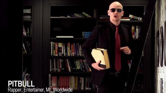 PHOTO:Pitbull, kind of.