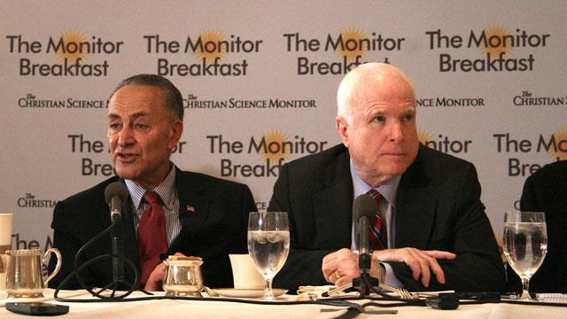 Senators See Huge Majority for Immigration Bill