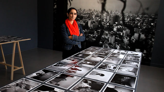 PHOTO:Yvonne Venegas photographs are currently on display at Mexico Citys Museo de Art Carrillo Gil.