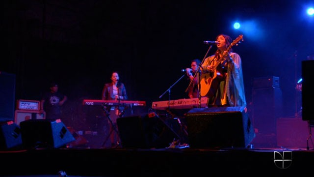 PHOTO: Latin Grammy nominee Carla Morrison performs at Vive Latino 2012.