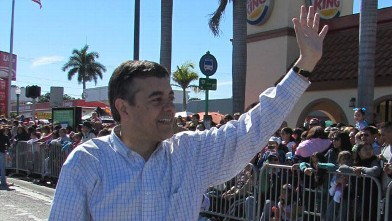 PHOTO:Florida Rep. David Rivera (R) finds himself in the spotlight after he was accused of secretly funding a shadow campaign against his Democratic opponent. Rivera's attorney has dismissed the allegations.