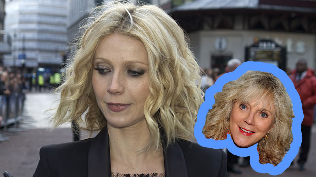 PHOTO: Actress Gwyneth Paltrow shares many similarities with her mother, actress Blythe Danner.