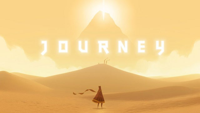PHOTO:&nbsp;Screenshot of Journey, winner of Game of the Year.