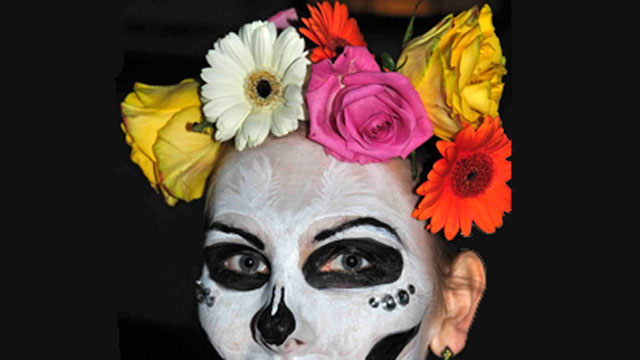 "PHOTO: A typical Day of The Dead figure is the ""Catrina"" skeleton woman who wears flowers in her hair."