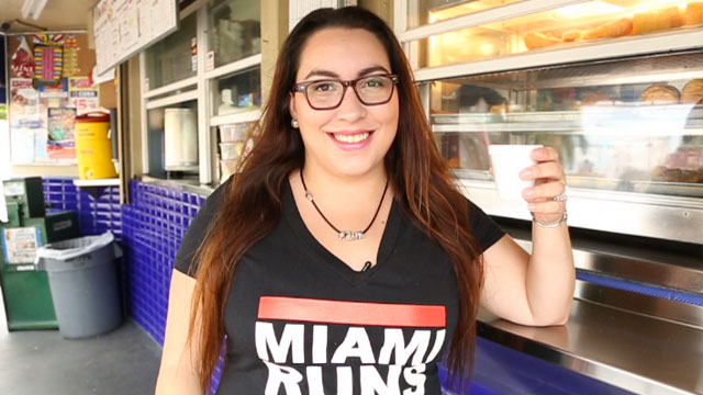 JennyLee Molina started a social media campaign to make 3:05 p.m., Miamis official cafecito time.