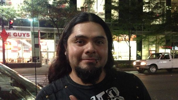 PHOTO: Fan outside Cafe Tacvba concert at NYCs Hammerstein Ballroom on September 16, 2013.