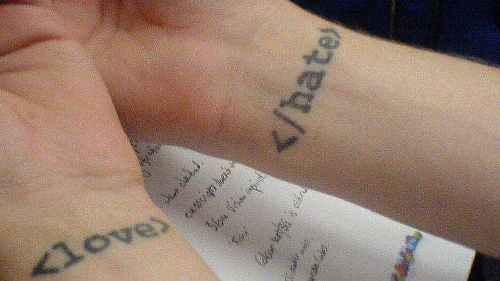 PHOTO: @media2006 geek tattoos