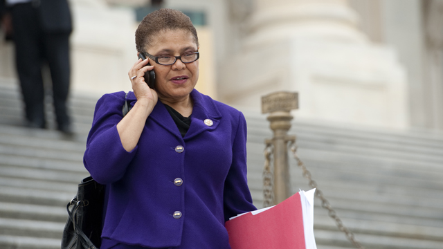 PHOTO: Rep. Karen Bass (D-Calif)