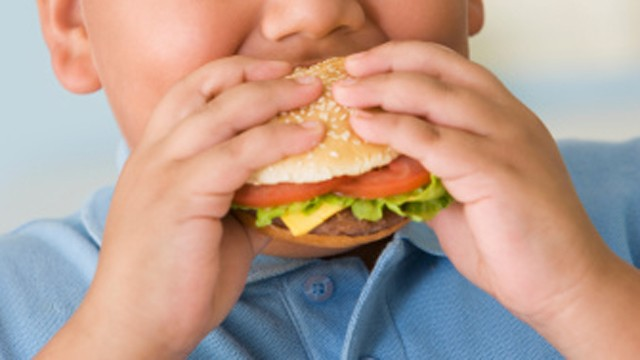 PHOTO: A new study shows a slight decline in childhood obesity.