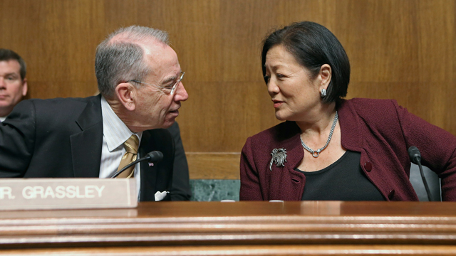 PHOTO: Sen. Mazie Hirono (D-Hawaii)