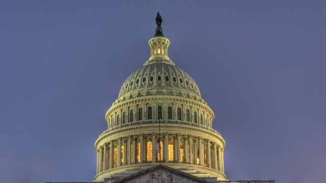 PHOTO: Capitol dome in Washington, D.C.