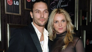 Kevin Federline and Britney Spears during Mariah Carey and Jermaine Dupri Host GRAMMY After Party Sponsored by LG at Private Home in Hollywood, Califormia, United States.