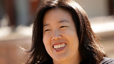 Michelle Rhee, former chancellor of the Washington D.C. public school system,in Sun Valley, Idaho, 2011.