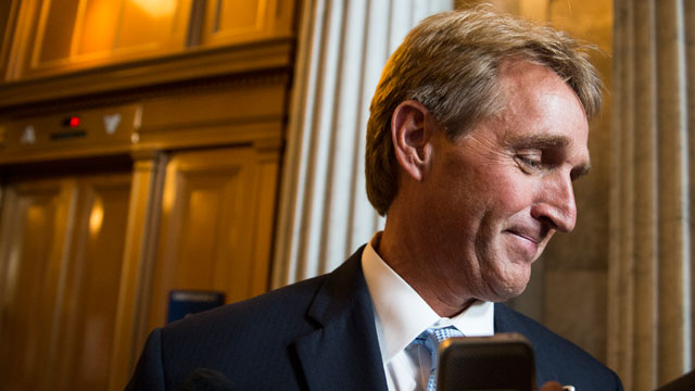PHOTO: Sen. Jeff Flake