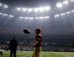 PHOTO: The Superdome blackout inspired its share of light bulb moments