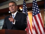 Speaker of the House John Boehner (R-Ohio) speaks during his weekly news conference June 6, 2013 on Capitol Hill in Washington, D.C.