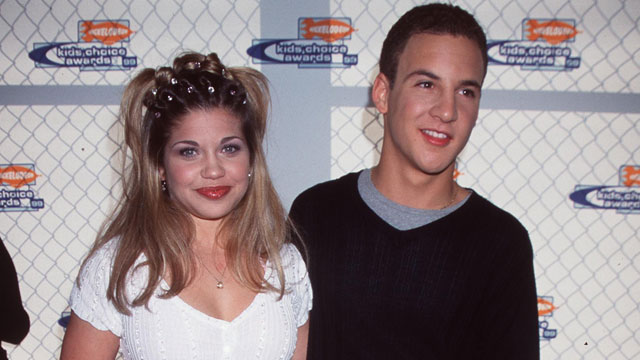 PHOTO: Danielle Fishel and Ben Savage