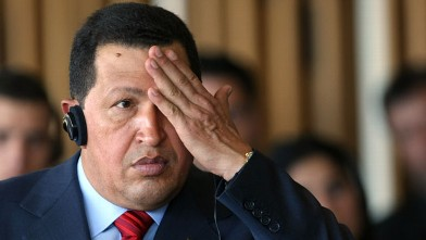 PHOTO:Hugo Chavez had a few theories to share.