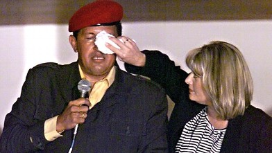 PHOTO:Hugo Chavez and his wife, Marisabel.