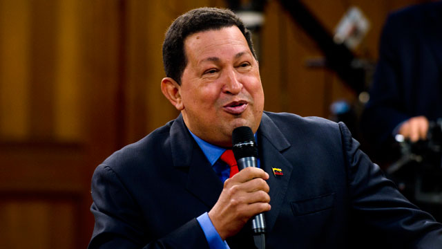 PHOTO:The notable, quotable Hugo Chavez.