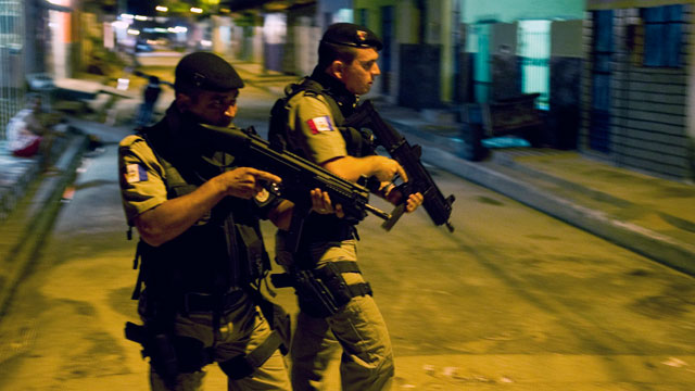 PHOTO: Maceio, Brazil, which murder rate raised 184,7 percent in the last ten years according to an official report, has turned into Brazil's capital of homicide due to an increase in crack consumption and the high poverty rate.