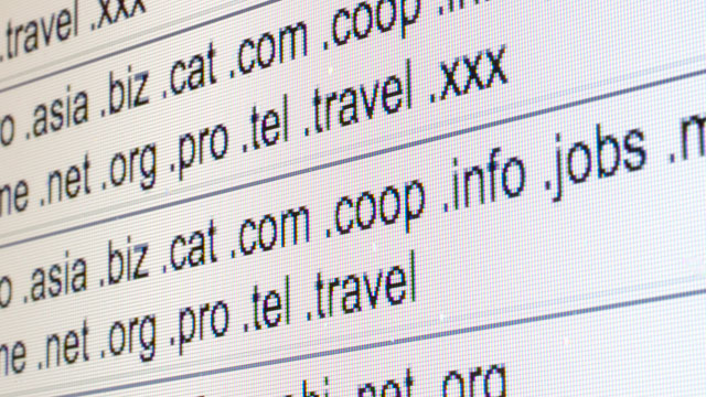 PHOTO: Top-level domains are listed on the Internet Corporation for Assigned Names and Numbers