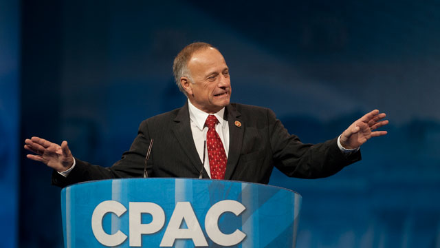 PHOTO: Rep. Steve King, R-IA., during the 2013 Conservative Political Action Conference at the Gaylord National Resort & Conference Center at National Harbor, Md., on Saturday, March 16, 2013.