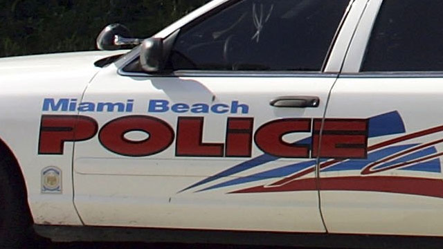 PHOTO: Miami Beach Police Squad Car