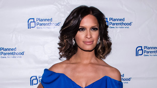 PHOTO:Rocsi Diaz poses for a photo during the Planned Parenthood annual gala at the Marriott Wardman Park Hotel on April 25, 2013 in Washington, DC.
