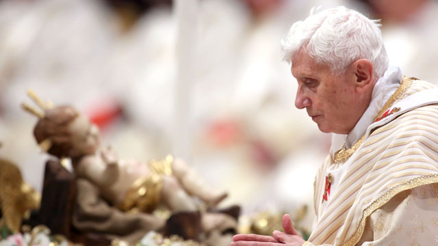 PHOTO:As Pope Benedict XVI steps down, rumors and theories swirl.