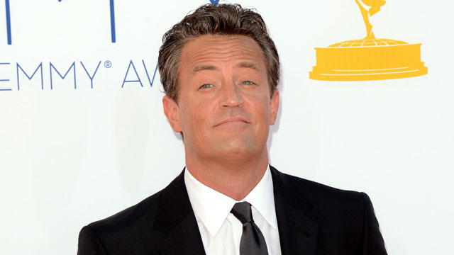 PHOTO: Matthew Perry at the 64th Primetime Emmy Awards on September 23, 2013 in LA.