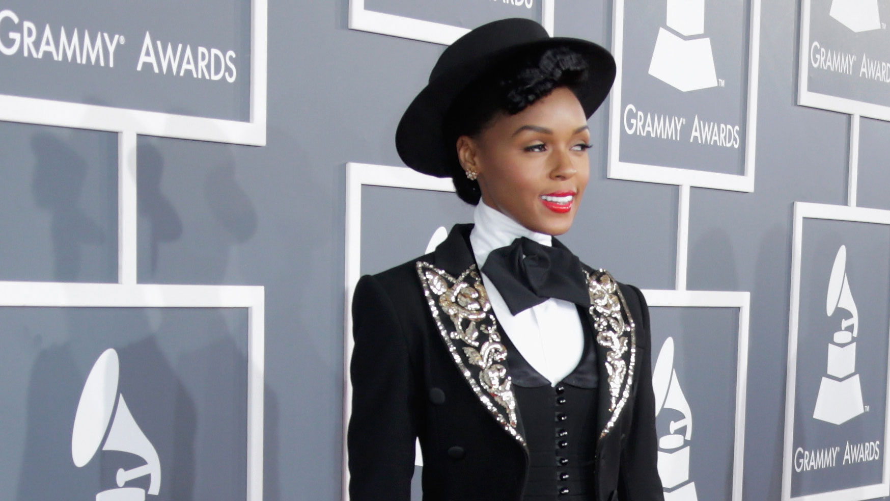 PHOTO: Janelle Monáe always manages to take a basic suit and turn it on its head.