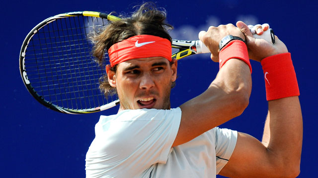 PHOTO: Rafael Nadal of Spain returns the ball against Benoit Paire of France during day five of the 2013 Barcelona Open Banc Sabadell on April 26, 2013 in Barcelona, Spain. Rafael Nadal won 7-6, 6-2.