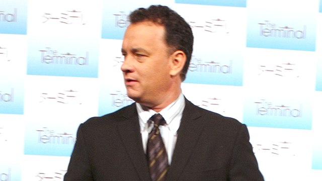 PHOTO: Tom Hanks during 17th Annual Tokyo International Film Festival - 'The Terminal' Press Conference at Imperial Hotel in Tokyo, Japan.