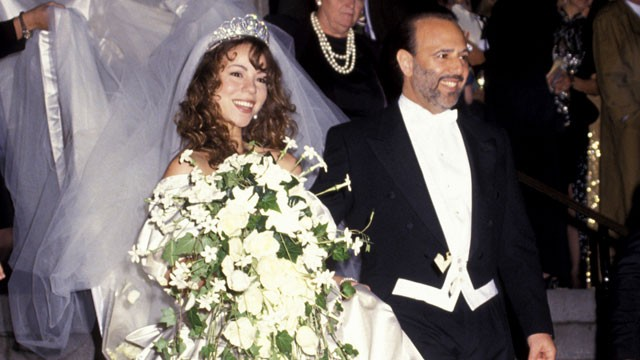 PHOTO:&nbsp;Tommy Mottola and Mariah Carey's wedding in 1993.