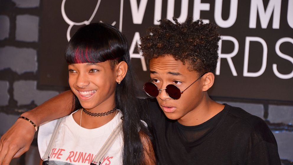 PHOTO: Willow Smith and Jaden Smith attend the 2013 MTV Video Music Awards at the Barclays Center, looking fly as hell.
