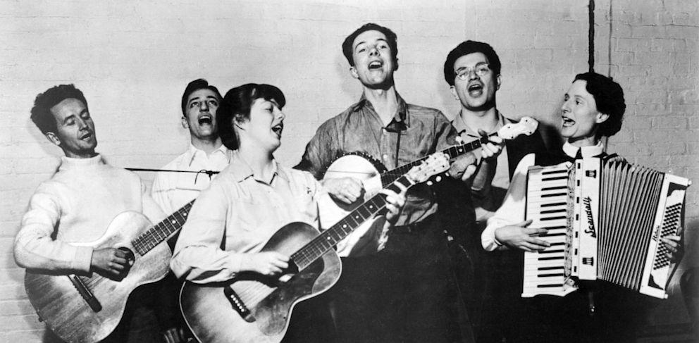 Woody Guthrie CIRCA 1970