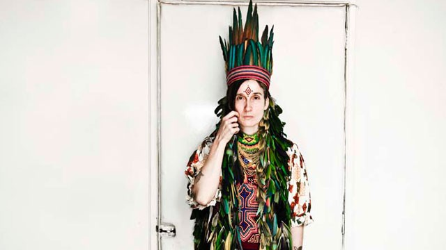 PHOTO:&nbsp;Andrea Echeverri of alt-rock band Aterciopelados, has been a global ambassador of Bogota's music scene since the early '90s.