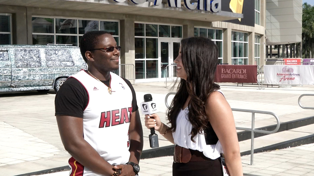 PHOTO: Are Miami Heat fans really only bandwagon fans? We interviewed a few to find out.