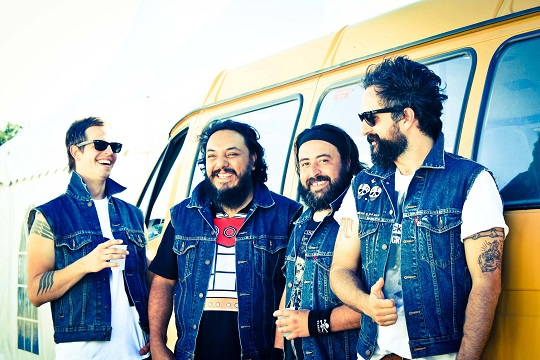PHOTO:Mexican band Molotov is currently touring the US.